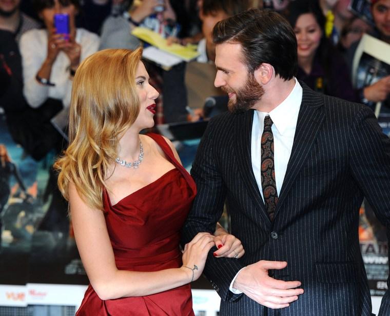 "Image: ""Captain America: The Winter Soldier"" - UK Film Premiere - Red Carpet Arrivals"