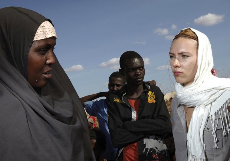 Image: Scarlett Johansson Visits Kenya
