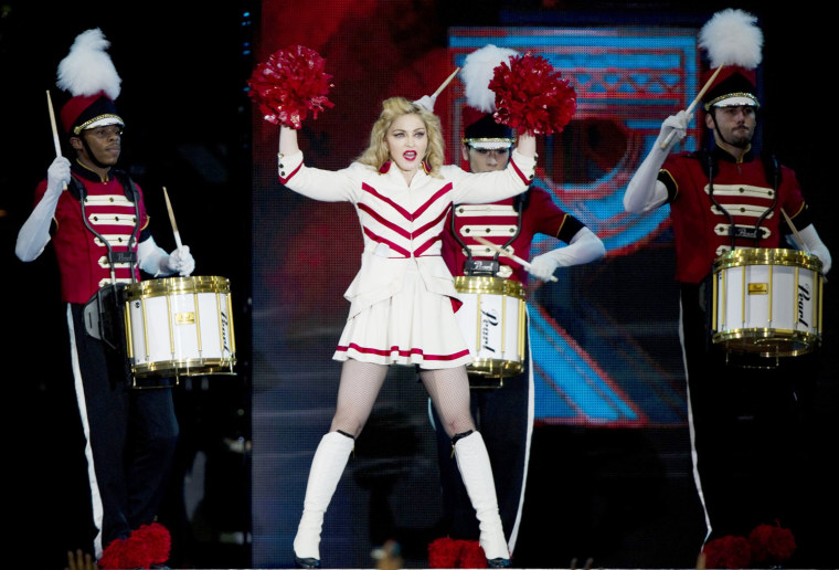 COLOMBIA-MUSIC-MADONNA