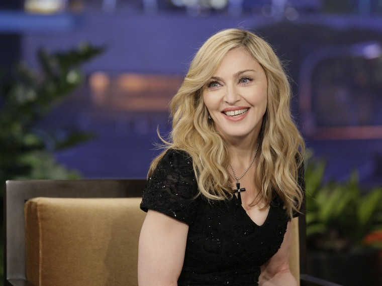 Image: FILE - Madonna Turns 55 The Tonight Show with Jay Leno