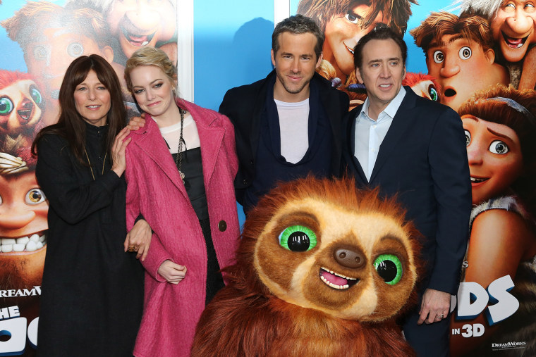 """The Croods"" New York Premiere"