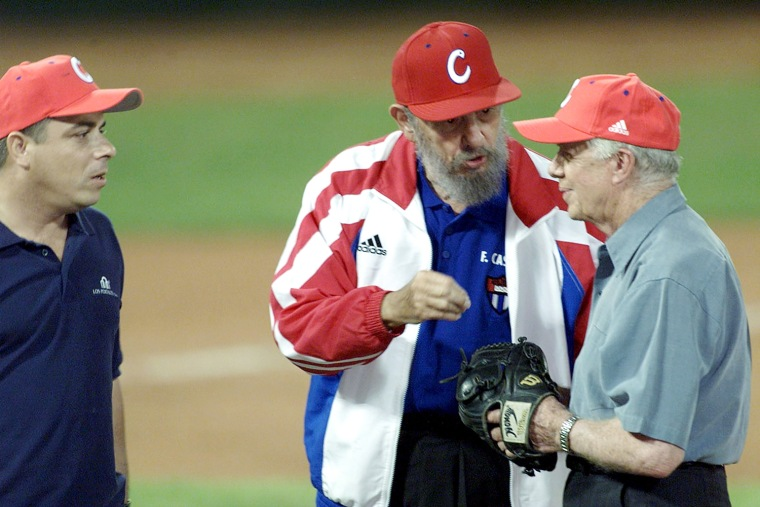 Image: Jimmy Carter Visits Cuba