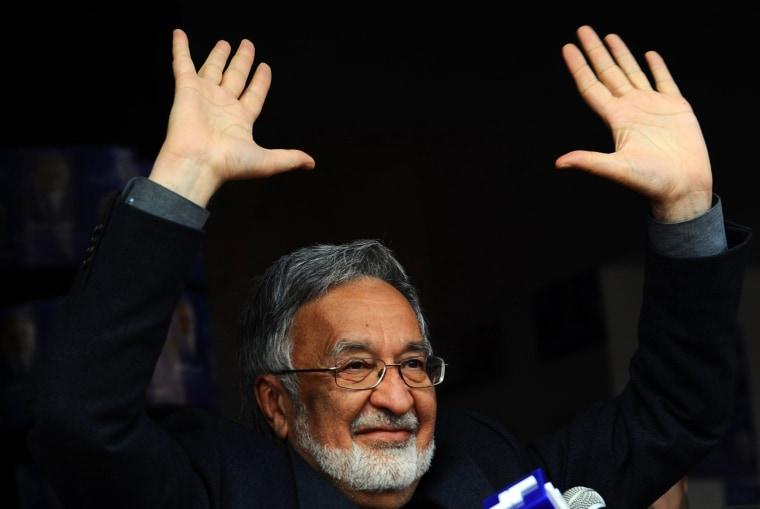 Image: AFGHANISTAN-VOTE-RASSOUL