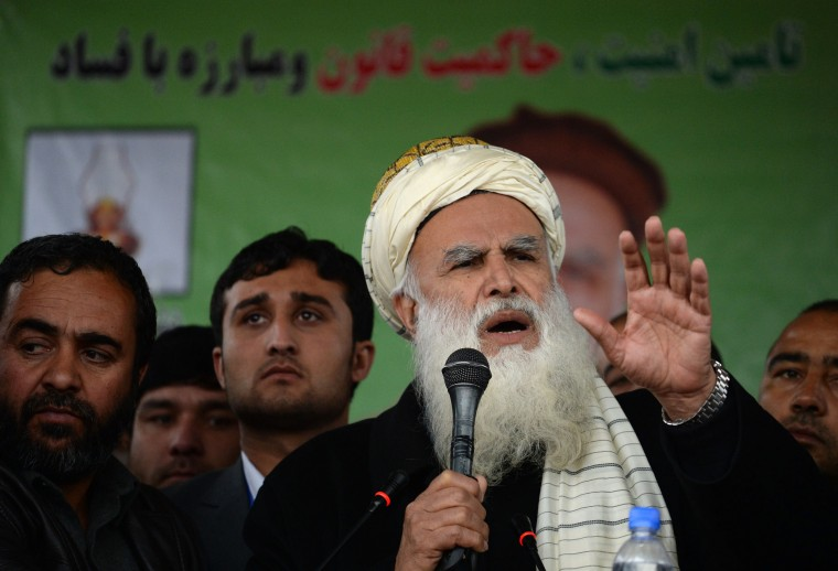 Image: AFGHANISTAN-VOTE-RALLY
