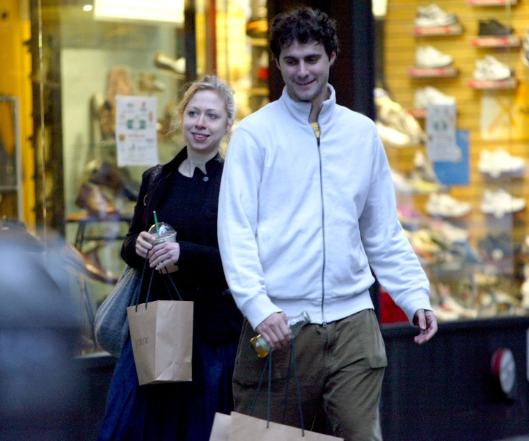 Chelsea Clinton & New Boyfriend EXCLUSIVE