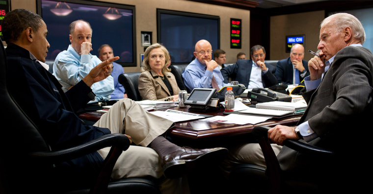 President Obama Discusses Osama bin Laden With National Security Team