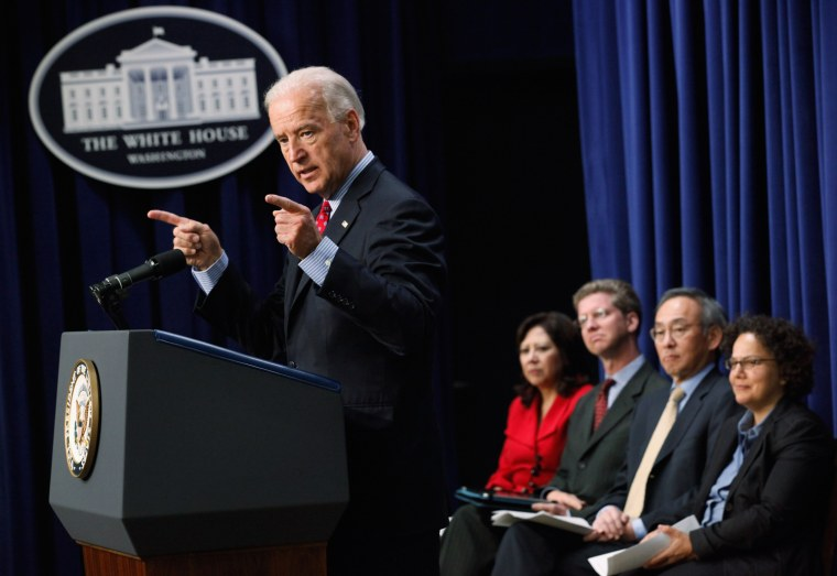 Biden And Administration Officials Attend Middle Class Task Force Event