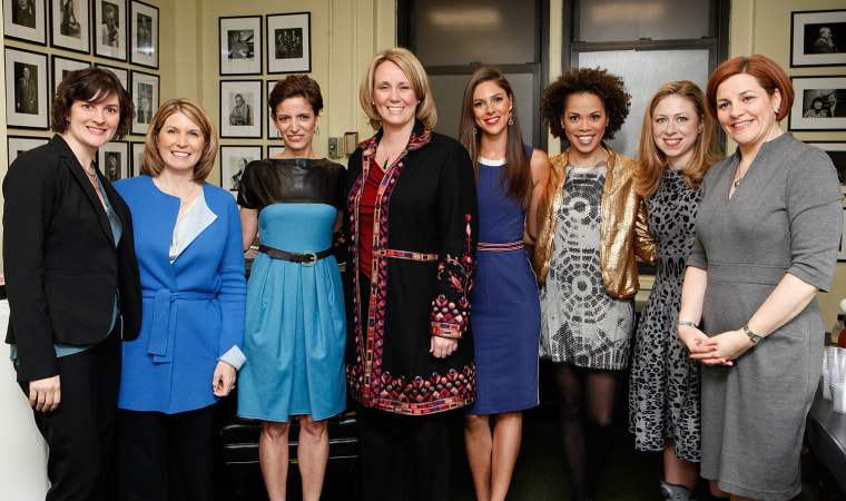 Glamour Hosts Women In Politics Panel With Chelsea Clinton