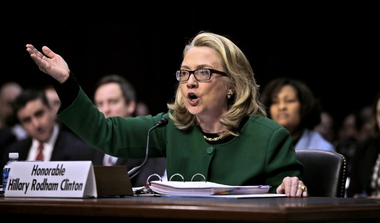 Image: Secretary of State Hillary Rodham testifies before the Senate Foreign Relations Committee