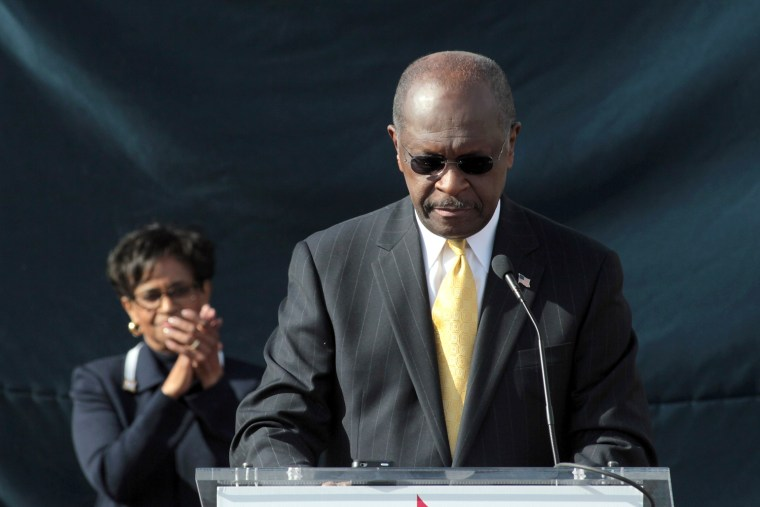 Image: GOP Presidential Candidate Herman Cain Makes Campaign Announcement In Atlanta