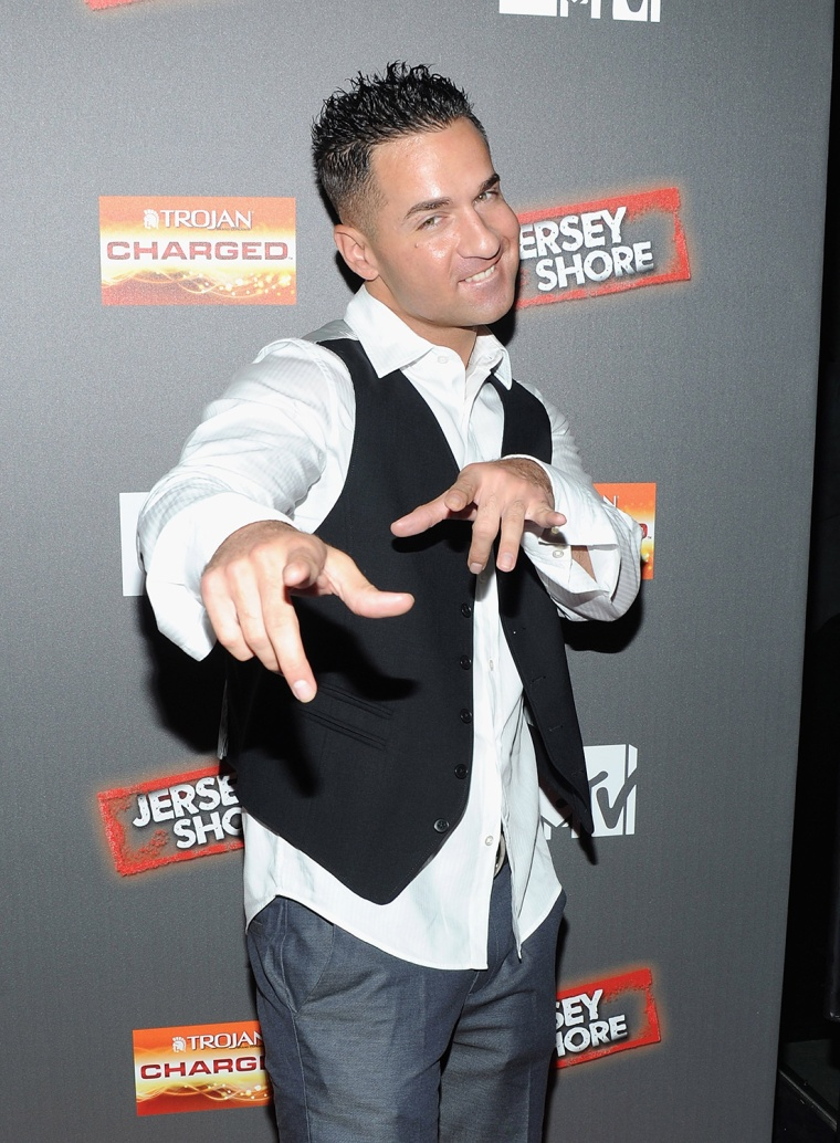 "Image: FILE: Mike ""The Situation"" Sorrentino Arrested At Tanning Salon"