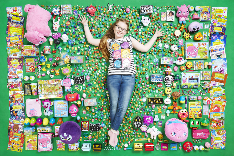 Lucy Neath - Largest Collection Of Moshi Monsters Photo Credit: Paul Michael Hughes/Guinness World Records