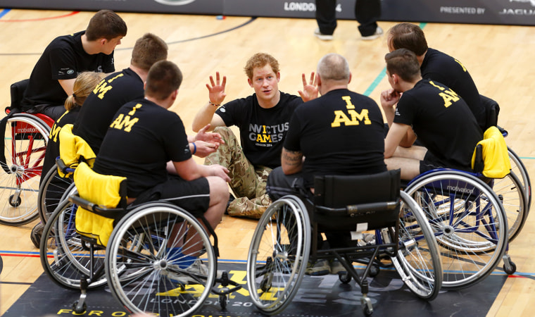 Image: Prince Harry and Sir Keith Mills GBE Announce The Invictus Games