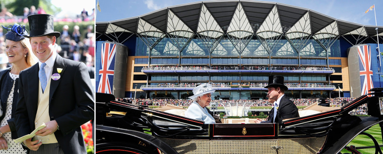 ASCOT, ENGLAND - JUNE 17:  Prince Harry attends day one of Royal Ascot at Ascot Racecourse on June 17, 2014 in Ascot, England.  (Photo by Chris Jackson/Getty Images for Ascot Racecourse)  epa04262619 Britain's Queen Elizabeth II (L) and Prince Harry (R) arrive in a horse-drawn carriage for the opening day of Royal Ascot in southeast of London, Britain, 17 June 2014. The Royal Ascot horse race event runs through 21 June.  EPA/ANDY RAIN