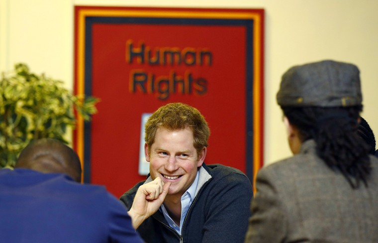 Prince Harry Visits The Full Effect Youth Project