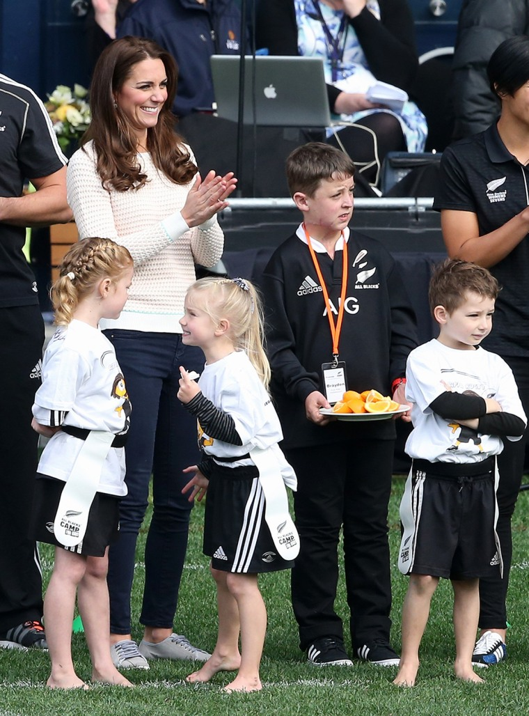 Image: The Duke And Duchess Of Cambridge Tour Australia And New Zealand - Day 7