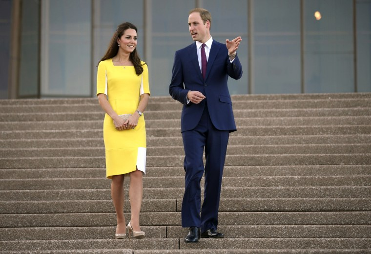 Image: Prince William, Kate Duchess of Cambridge