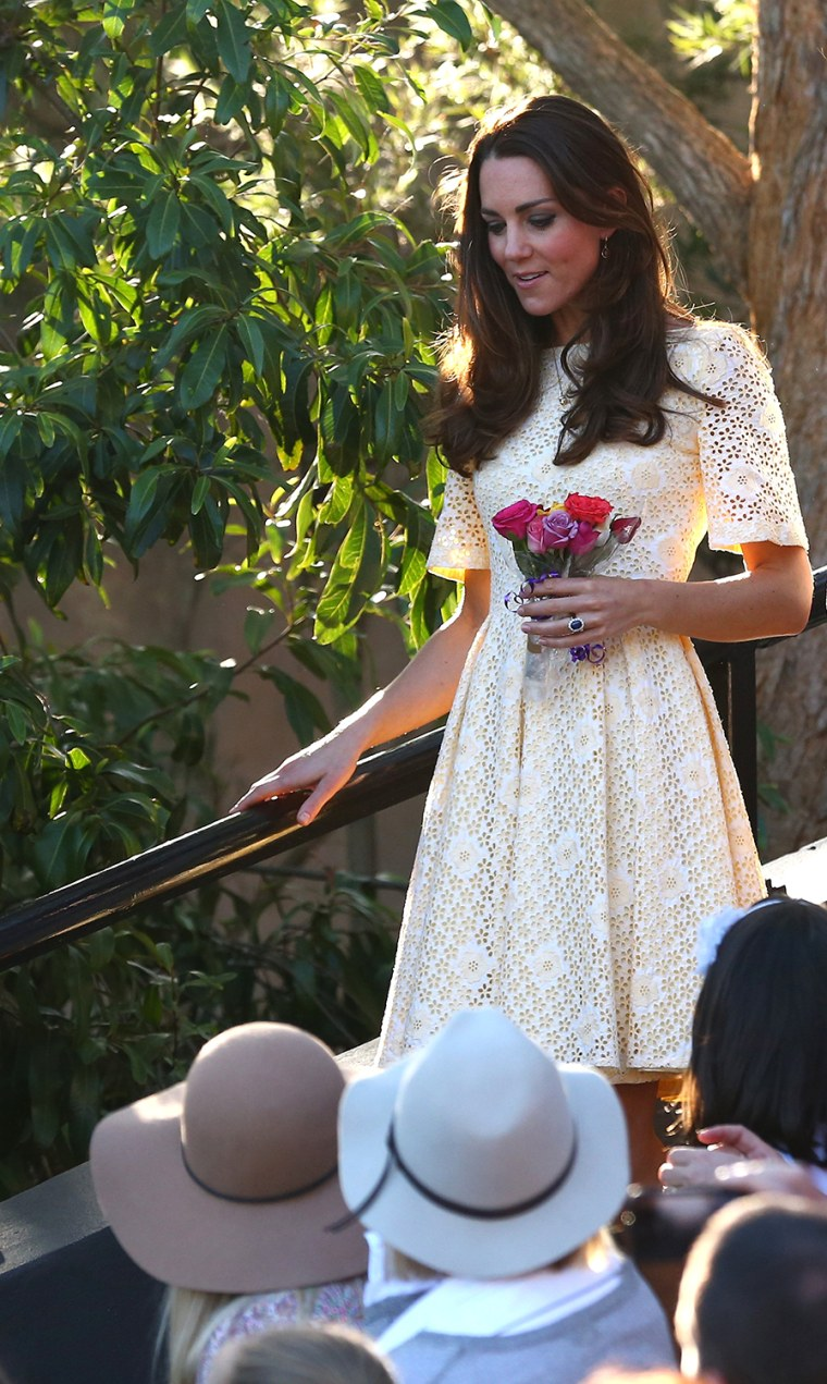 Image: The Duke And Duchess Of Cambridge Tour Australia And New Zealand - Day 14