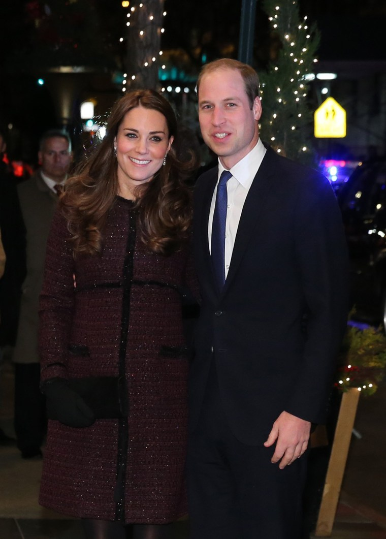Image: The Duke And Duchess Of Cambridge Arrive In New York