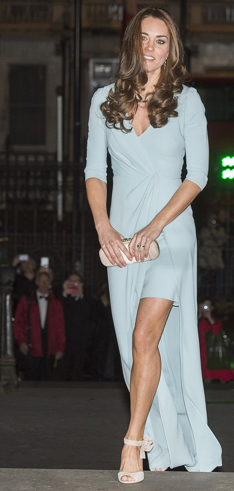 Image: Britain's Catherine, Duchess of Cambridge, attends the Wildlife Photographer of the Year 2014 Awards Ceremony at the Natural History Museum in London