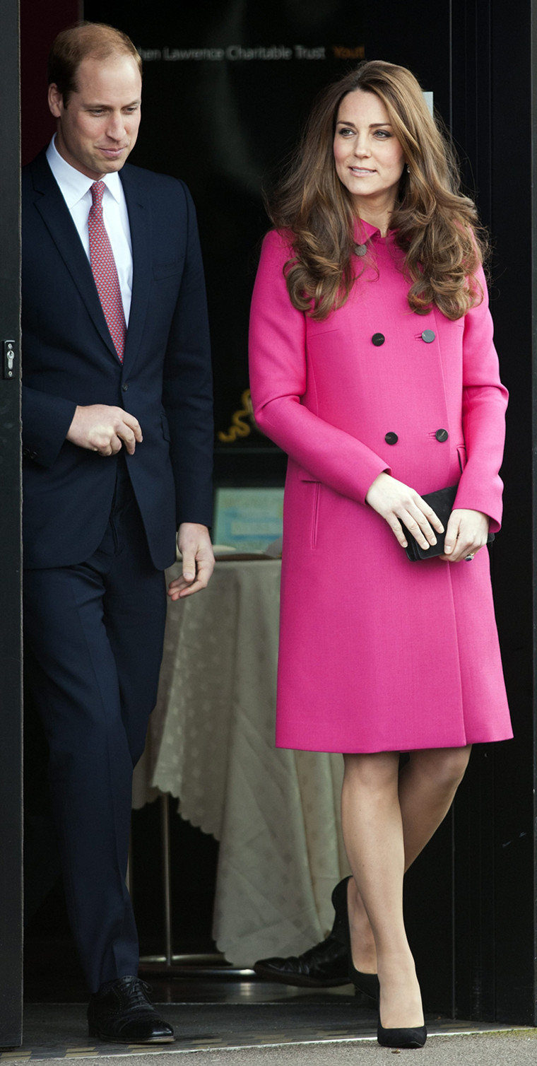 Image: Catherine Duchess of Cambridge and Prince William Duke of Cambridge visit the Stephen Lawrence Centre in London