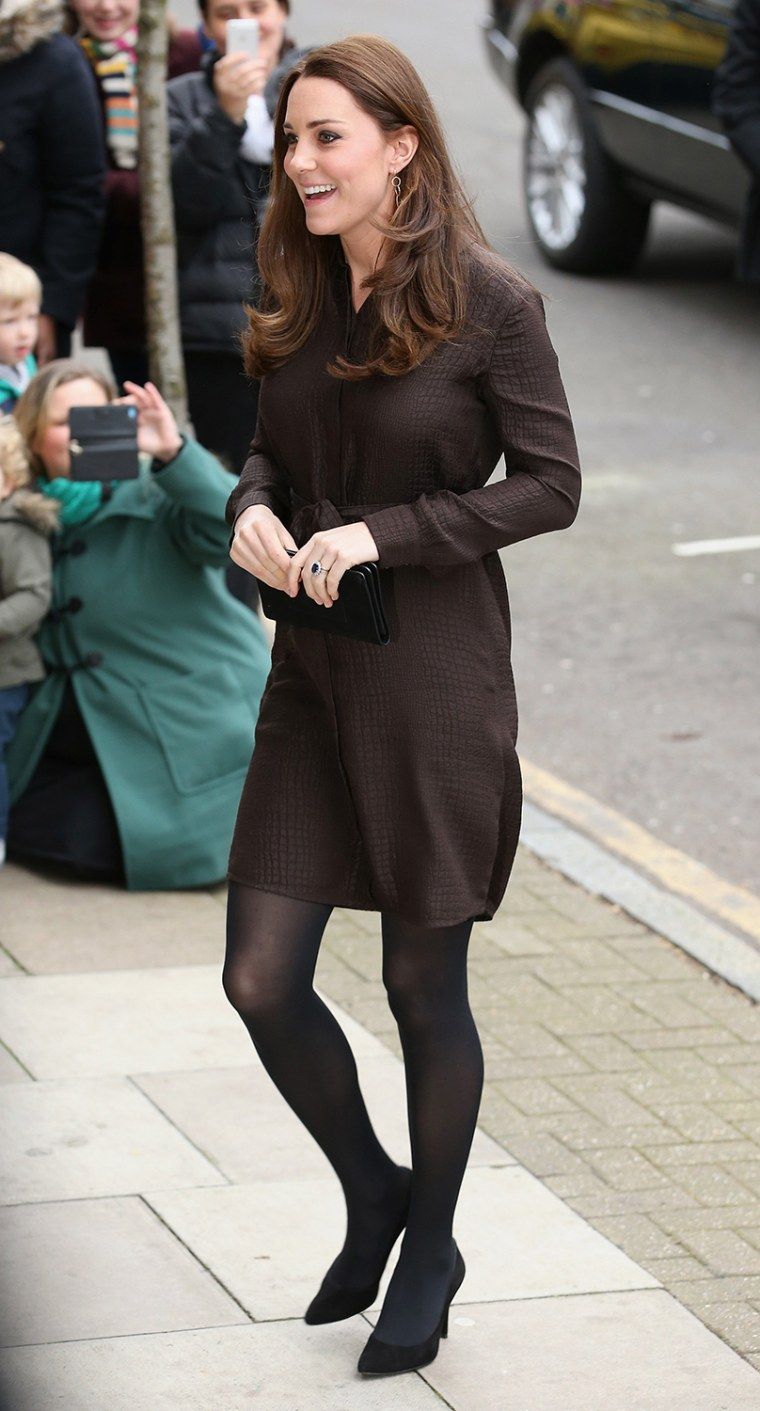 Image: The Duchess Of Cambridge Visits The Fostering Network