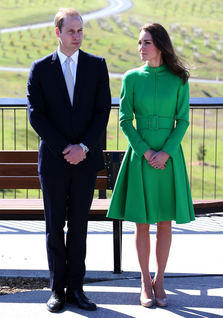 Image: The Duke And Duchess Of Cambridge Tour Australia And New Zealand - Day 18