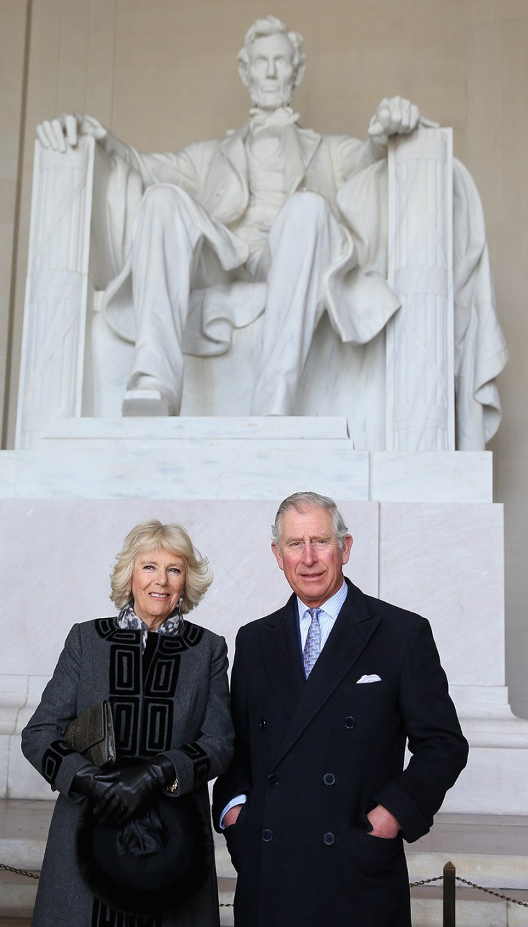 The Prince Of Wales And The Duchess Of Cornwall Visit Washington, DC - Day 2