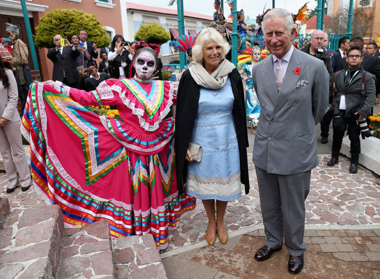 Prince Of Wales And The Duchess Of Cornwall Visit Mexico - Day 1