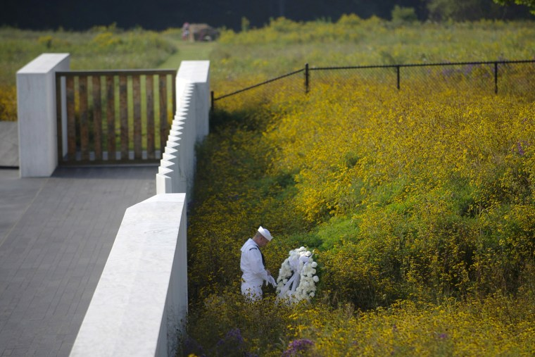 Image: BESTPIX  Commemorative Service Held At Flight 93 National Memorial In Shanksville