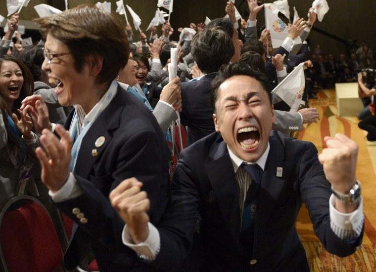 Image: TOPSHOTS-OLY-2020-IOC-MEETING-JPN