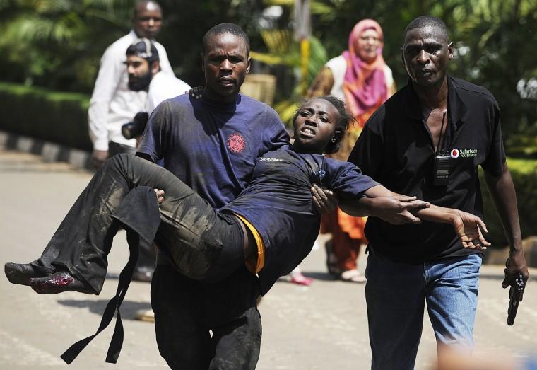 Image: TOPSHOTS-KENYA-UNREST-ATTACK