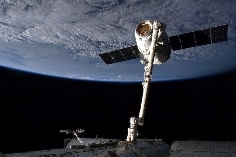 Image: US-SPACE-ISS-SPACEX-DRAGON