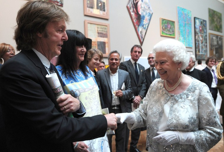 Image: Queen Elizabeth II Visits The Royal Academy Of Arts