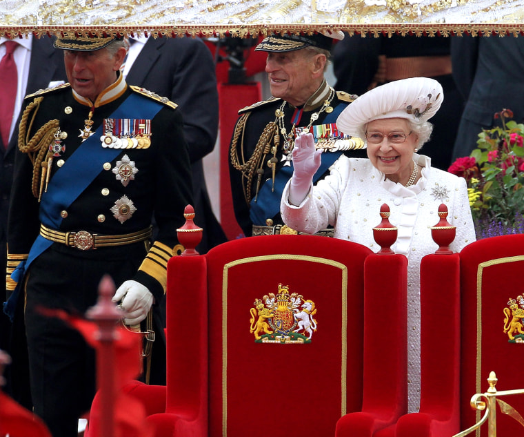 Image: Diamond Jubilee - Thames River Pageant