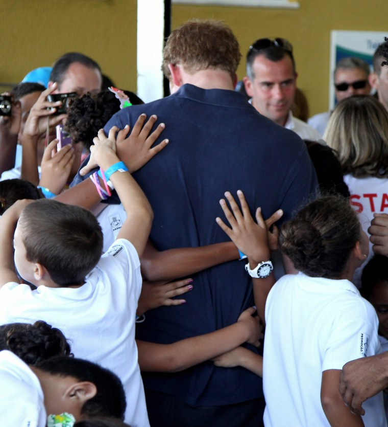 Image: Prince Harry Visits Brazil - Day Two