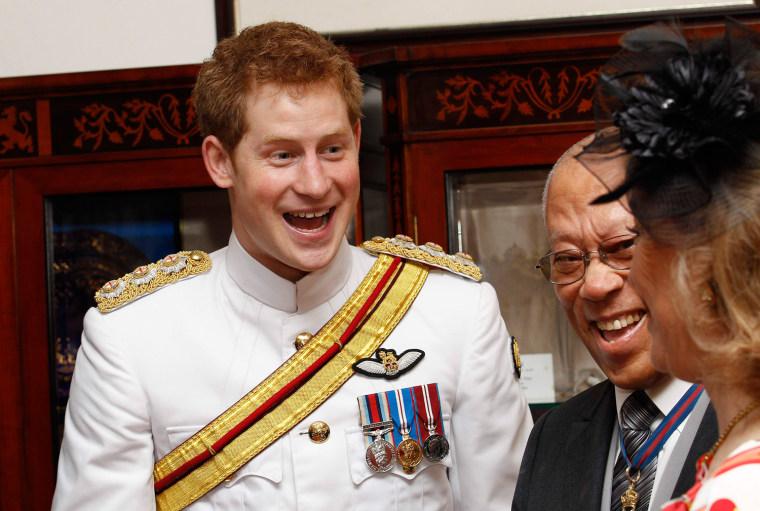 Image: Prince Harry Tours Bahamas To Mark Queen Elizabeth II's Diamond Jubilee
