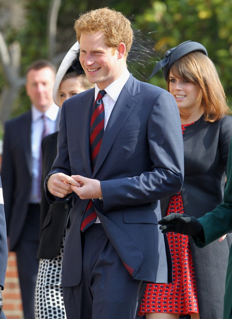 Image: The Royal Family Attend A Thanksgiving Service For The Queen Mother and Princess Margaret At Windsor