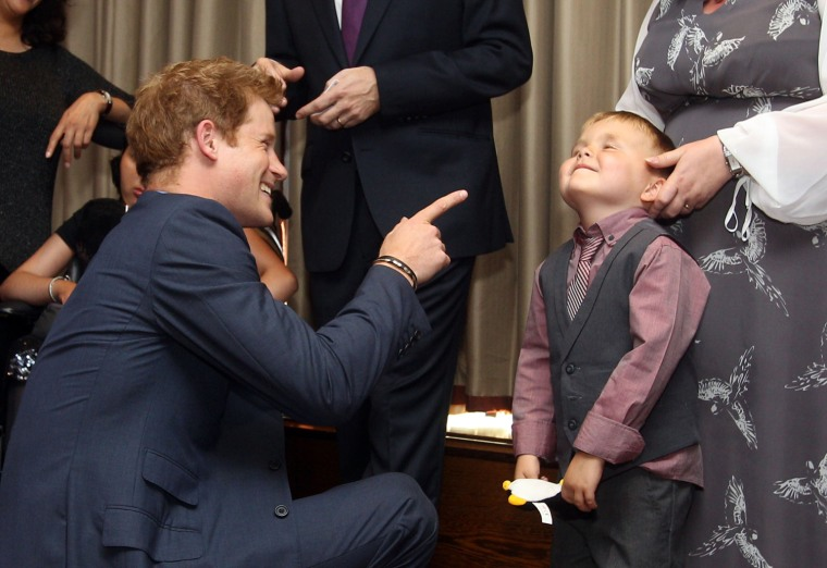 Image: BRITAIN-ROYALS-CHARITY-HARRY