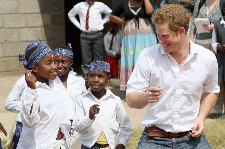 Image: Prince Harry Visits Lesotho
