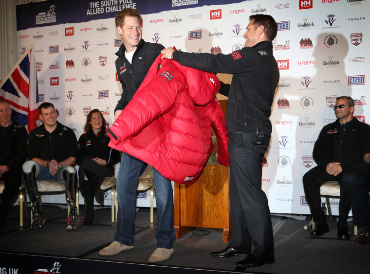 Image: Walking With The Wounded South Pole Allied Challenge - Press Launch