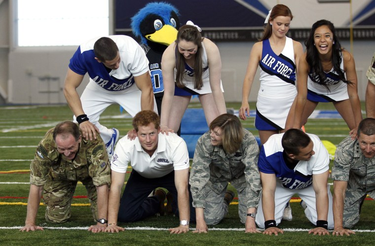 Image: Prince Harry Visits The United States - Day Four