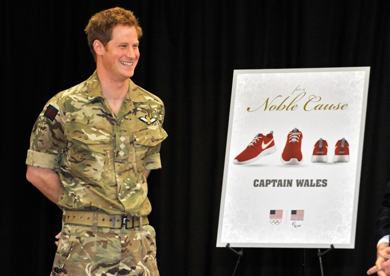 Image: Prince Harry Visits The United States - Day Three
