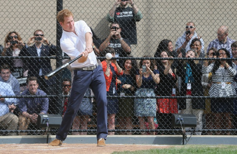 Image: Prince Harry Visits The United States - Day Five