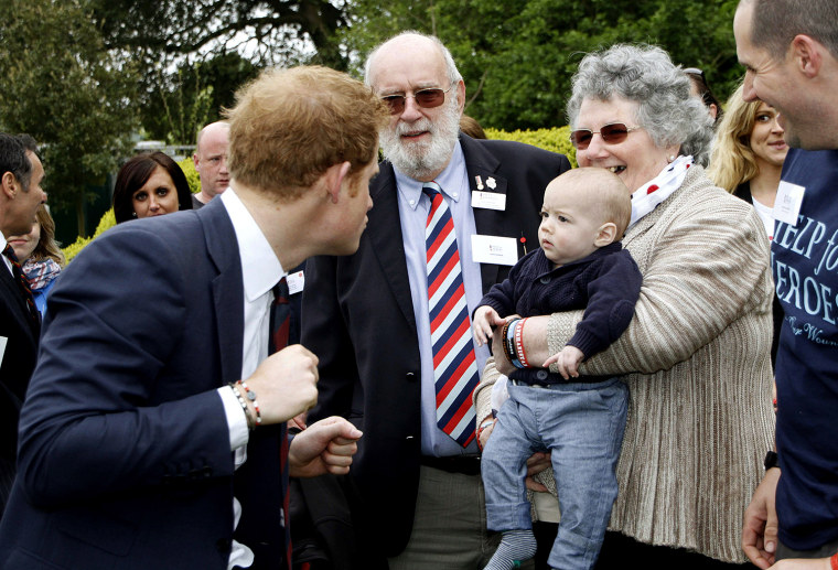 The Duke Of Cambridge And Prince Harry Visit Tedworth House