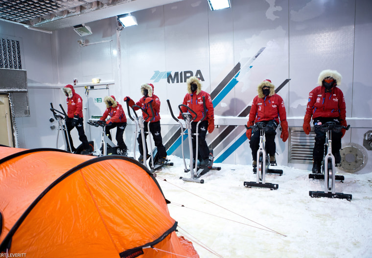 Image: Prince Harry training for South Pole challenge