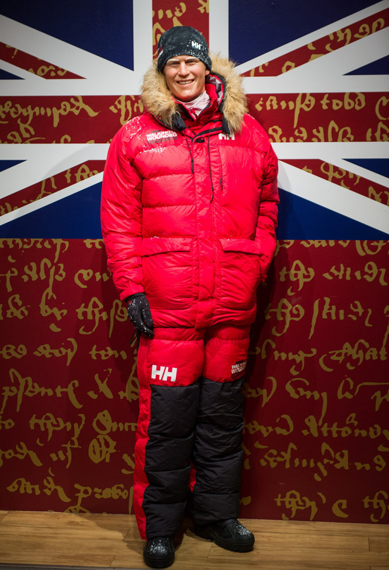 Image: Madame Tussauds Preview Of Prince Harry South Pole Makeover