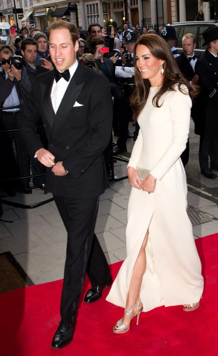 The Duke and Duchess of Cambridge Attend Dinner Hosted by The Thirty Club
