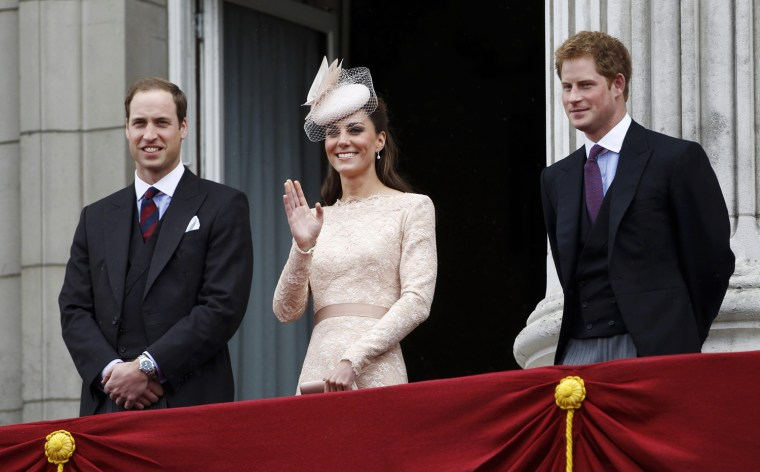 Image: Prince William, Catherine, Duchess of Ca