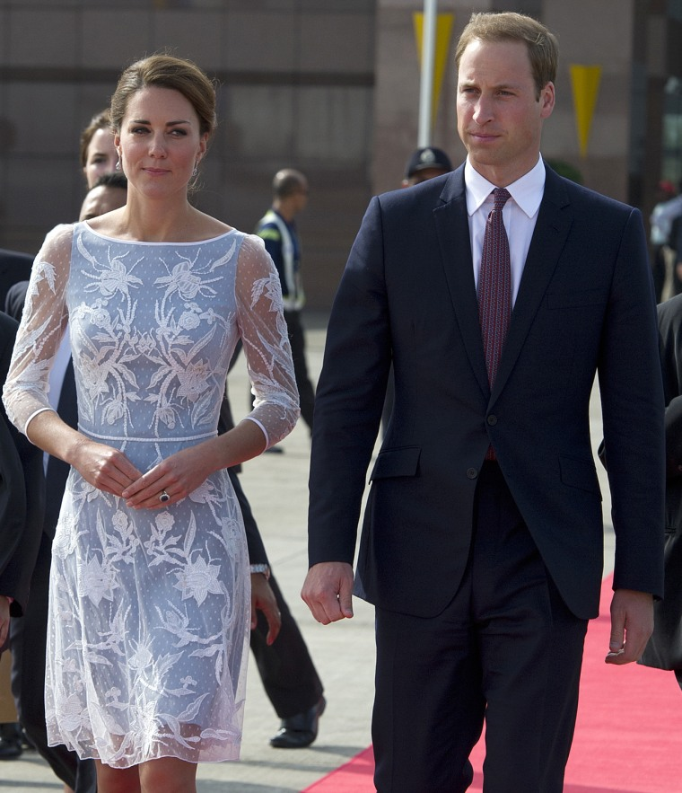 Image: The Duke And Duchess Of Cambridge Diamond Jubilee Tour - Day 4